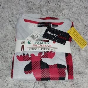 0706 Merry Lane Kids Pajama Set